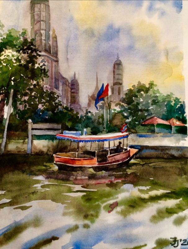 Бангкок. Ват Арун.